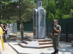 На пограничной заставе имени Д.В. Леонова в Приморском крае открыли мемориальный комплекс в память о событиях марта 1969 года