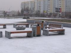 Для благоустройства площади перед зданием администрации г. Братска предлагается использовать уличную мебель ГК «Стимэкс»