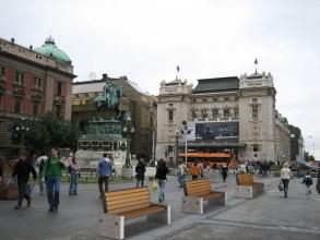 """Инсталляция 221. Серия """"Классика"""" для города Белград"""