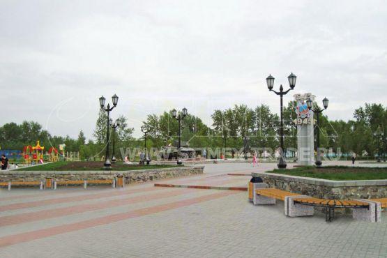 """Инсталляция 32. Серия """"Классика"""" для города Новосибирск"""