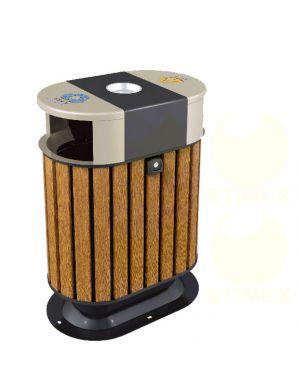 Металлическая урна для мусора U123 (У123)