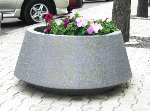 Вазон для цветов KV6 (КВ6) из бетона