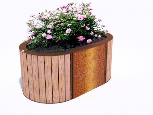 Парковый вазон для цветов П705