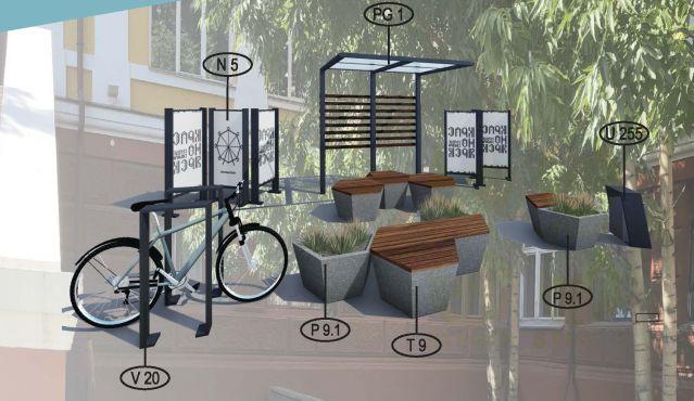 Парклет №9 для городских пространств.