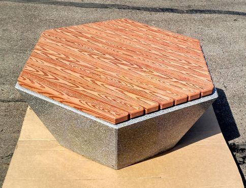 Скамья бетонная комби Т-9 (Мозаика)