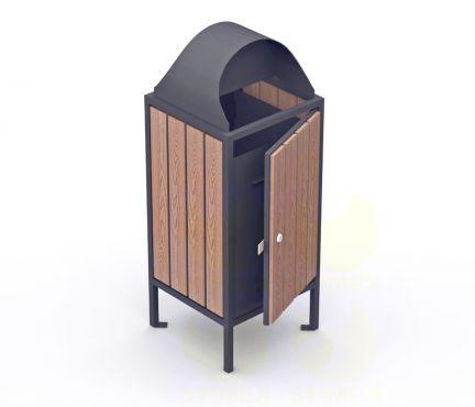 Металлическая урна для мусора U1M7 (У1М7)