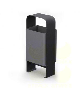 Металлическая урна для мусора U552 (У552)