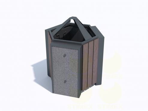 Урна парковая для мусора У703