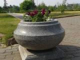 Благоустройство улиц Красноярска ведется с использованием гранитных вазонов ГК «Стимэкс»