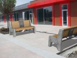 На территории аквапарка «Золотой пляж» в Анапе установлена городская мебель ГК «Стимэкс»