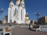 В Красноярске подходят к концу работы по строительству храма Рождества Христова