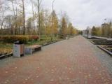 Продолжается благоустройство Гвардейского парка в Красноярске