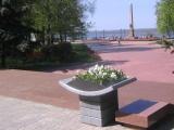 В Нижнем Новгороде завершилось благоустройство сквера у Нижегородского кремля