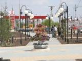 Для благоустройства площади перед ТК «Сибирский Молл» (г. Новосибирск) использованы малые архитектурные формы компании «Стимэкс»