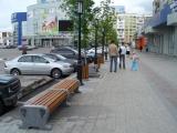 В городе Новокузнецке с использованием мебели из коллекции «Старый Петербург» благоустроена площадь