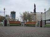 Замена уличной мебели в сквере возле здания Красноярского краевого суда, Красноярск