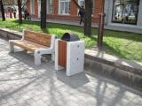 Замена уличной мебели в сквере имени Ф.Э. Дзержинского, Красноярск