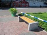 Прилегающая территория к аэропорту «Емельяново» благоустроена с использованием уличной мебели производства ГК «Стимэкс»