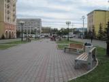 В Красноярске завершаются работы по реализации программы замены и реставрации уличной мебели