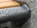 Смена основного цвета металлических элементов уличной мебели – антик серебро.