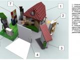 Схема выставочного павильона ГК