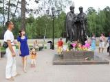 В Ангарске Иркутской области открыли памятник святым Петру и Февронии