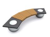 ГК «Стимэкс» начинает производство парковой скамейки С43 с элементами из архитектурного бетона.