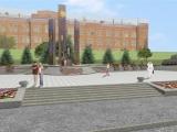 В Красноярске полным ходом идет строительство сквера с мемориальным комплексом в честь 70-летия Победы.