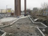 Продолжается строительство мемориального комплекса в честь 70-летия Победы.