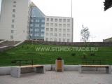 Благоустройство территории Института нефти и газа СФУ в Красноярске