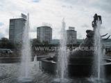 Замена уличной мебели на Предмостной площади в Красноярске