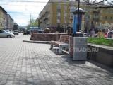 Замена уличной мебели в сквере имени Ф.Э.Дзержинского