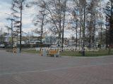 Замена малых архитектурных форм на Площади Победы в Красноярске