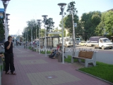 Территория торгово-делового комплекса «Галерея Чижова» в Воронеже