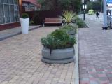 Благоустройство площади перед аптекой в Сочи