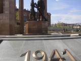 Сквер в честь 70-летия Победы в Великой Отечественной войне
