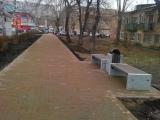 Пешеходная зона около ТЦ Черемушки, Красноярск