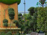 Диван городской уличный D5 (Д5) с элементами из натурального гранита