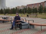 Первый парклет появился на территории Красноярска