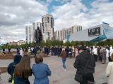 Сегодня в парке 400-летия Красноярска был открыт памятник Павлу Стефановичу Федирко.