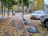 Парковочный столбик, ограничитель движения полусфера