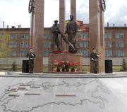 В Красноярске открыли новый мемориал в честь 70-летия Победы