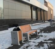 Благоустройство территории, прилегающей к Управлению Федерального казначейства по Красноярскому краю