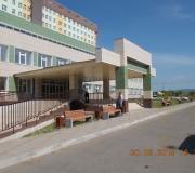 Территория центральной городской больницы г. Сосновоборска Красноярского края