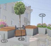 Парклет №3 для городских пространств