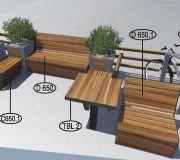 Парклет №8 для создания комфортной городской среды.