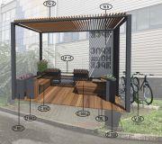 Парклет №11 для городского пространства
