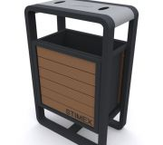 Металлическая урна для мусора U301 (У301)